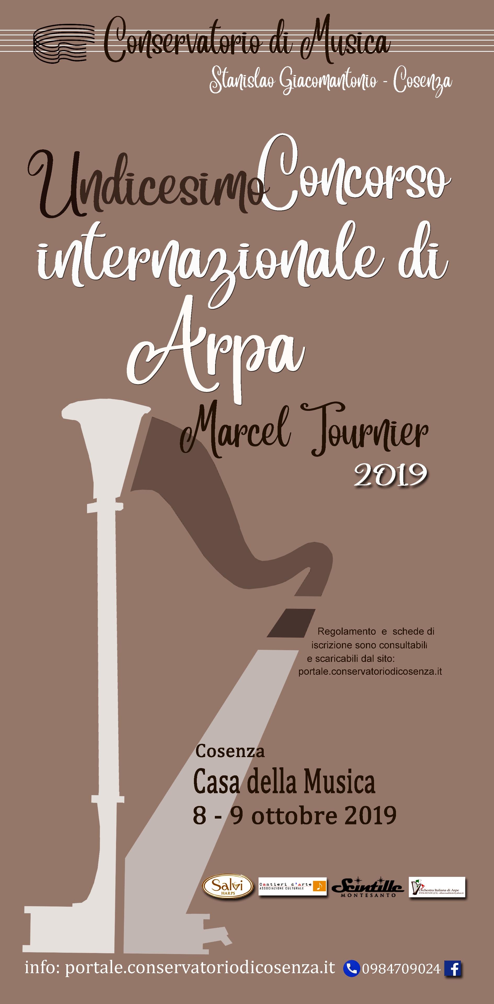 """XI. Internationaler Harfenwettbewerb """"M. Tournier"""""""